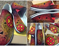 X-Men - Doodle shoe
