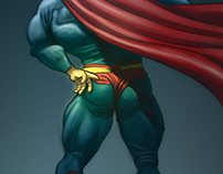 superman's tights