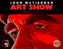 ONE PING ONLY / JOHN McTIERNAN ART SHOW / HCG