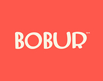 Bobur. Naming, identity and product photography.