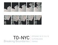 Flyer and catalogue for TO-NYC / Breaking Boundaries