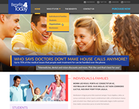 Telemedicine Website Redesign