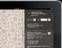 Focus Têxtil • Aplicativo Automação de Vendas para iPad