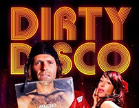 DIRTY DISCO Sleeveface club flyer