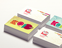 Koi Crafts Business Cards