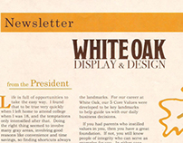 White Oak Newsletter
