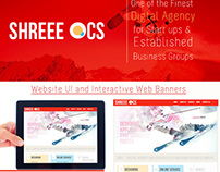 UI/UX, Website and Web Banner Design & Retouching