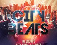 City Beats Flyer Template