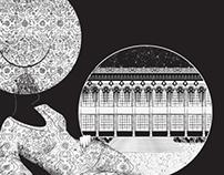 Ilustración para revista Calamo Noviembre 2013