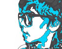 "Serie ilustraciones ""Hipster kids"""