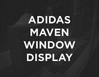 Adidas Maven Window Display