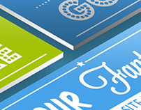 Isometric Website Design Mockup Bundle