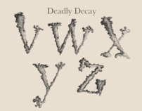 Deadly Decay Typeface