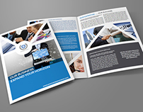 Company Brochure Bi-Fold Template Vol.3