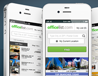 OfficeList Mobile Site