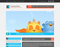 Maqeezy Web Template