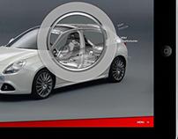 Alfa Giulietta Real Experience - iPad