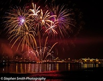 Southampton Mayflower Fireworks November 2013