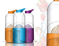 Portable Juicer/Bottle Concept