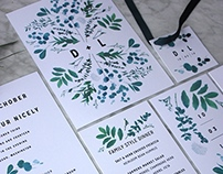 Leslie + Dillon Wedding Stationery