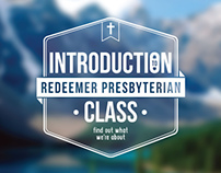 Introduction Class | Redeemer Presbyterian | '13