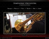 Symphonic Orchestra HTML5 Template