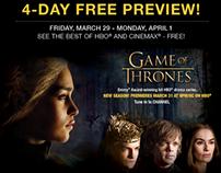 HBO Game of Thrones/True Blood Digital Creative