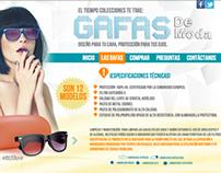 Minisite | Colección Gafas