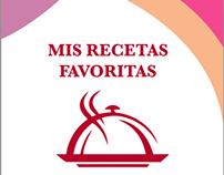 """Libro: """"Mis Recetas Favoritas"""""""