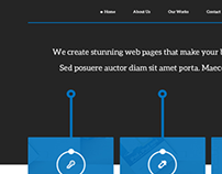 Serve - Free One Page HTML5 Template