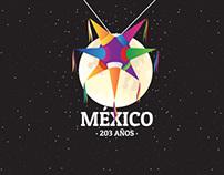 México 203 Años