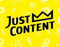 Web Design for justcontent.ru