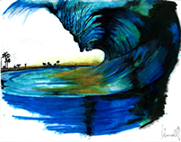 Tahitian wave