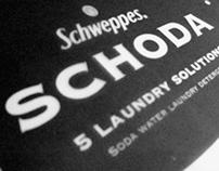 SCHODA Laundry Detergent Packaging