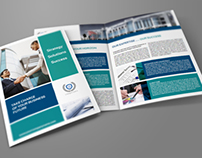 Company Brochure Bi-Fold Template Vol5