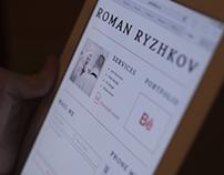Personal webpage v1.0