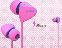 Pink-Small Headphones