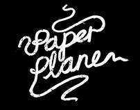 Paper plane tattoo's