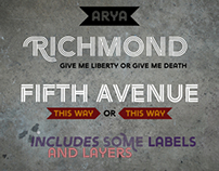ARYA Typeface
