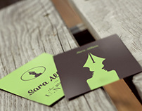 Sara Allom - Business Cards