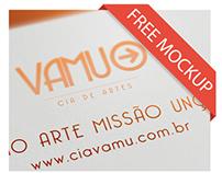 Branding - Cia de Artes - VAMU