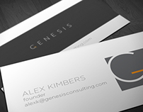 Genesis Consulting Branding and Identity