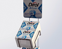 New stand for Dirol