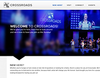 Crossroads Website Design - Home