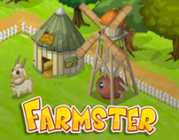 """Farmster"" Game Art"