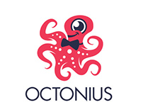 Octonius iOS App Branding
