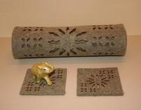 Textile design (lazer cut)