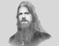Johan Hegg portrait