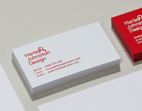 Harley Johnston Design - stationery and website