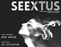Seextus Graphic Design Magazine
